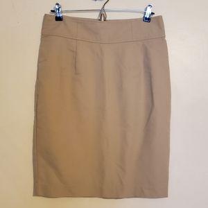 Khaki high waisted skirt like new
